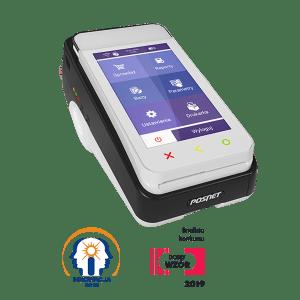 Pospay to pierwsze na rynku urządzenie fiskalne, które jest połączeniem kasy, drukarki i terminala płatniczego.