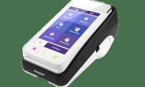 Pospay ONLINE mobilny, fiskalny terminal płatniczy połączenie bluetooth