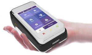 Pospay ONLINE mobilny, fiskalny terminal płatniczy niewielki rozmiar