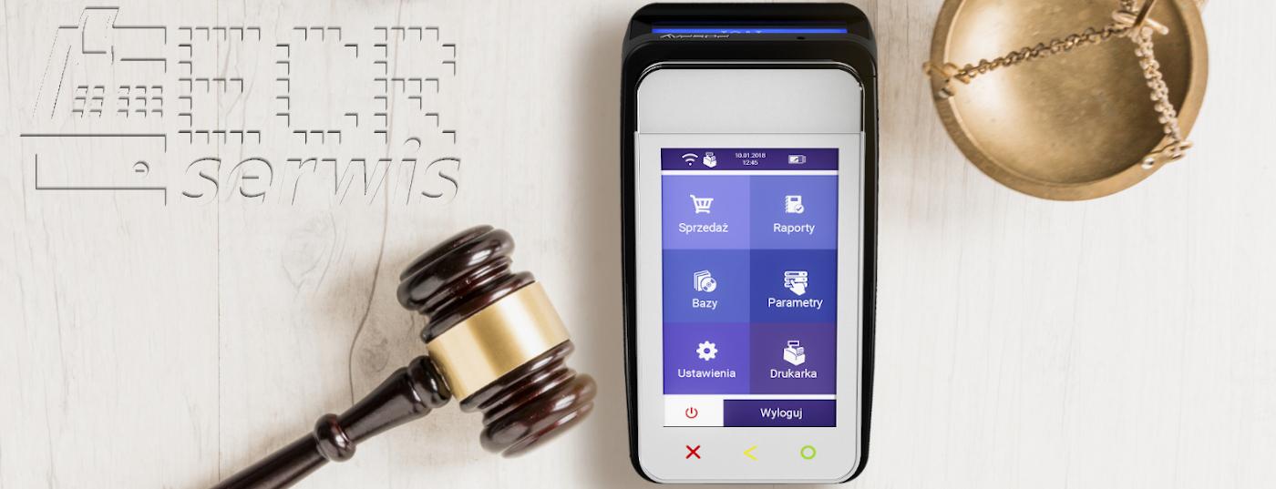 prawnicy, radcy prawni, sędziowie polubowni i komornicy mają obowiązek instalacji kas fiskalnych online